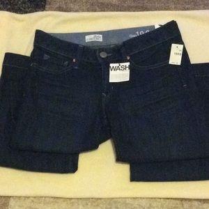 Women's long & lean gap jeans